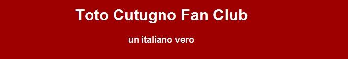 Toto Cutugno Fanclub Italian